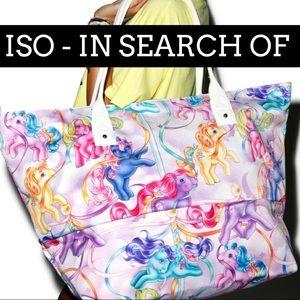 ISO My Little Pony Beach Bag